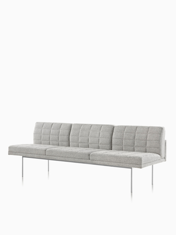 Gray Tuxedo Sofa. Select to go to the Tuxedo Sofas product page.