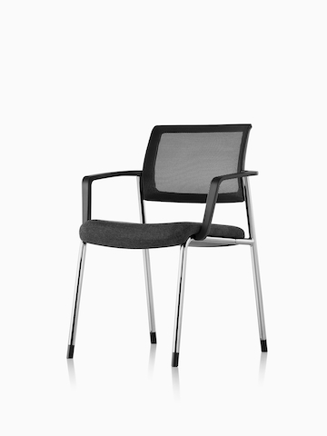 Black Verus Side Chair. Select to go to the Verus Side Chairs product page.