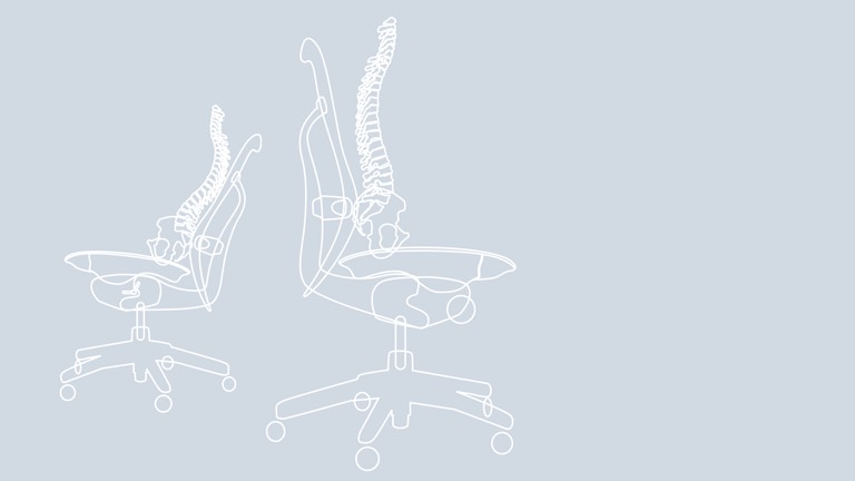 supporting the spine when seated research herman miller