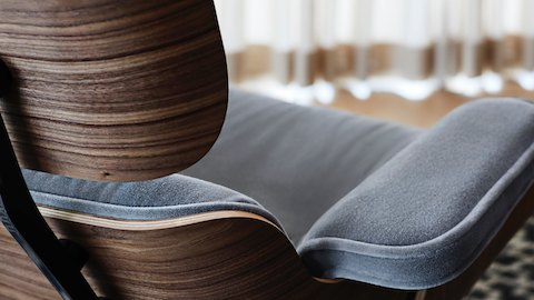 An Eames Lounge Chair in Fabric?