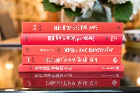 Translated copies of Design the Life You Love