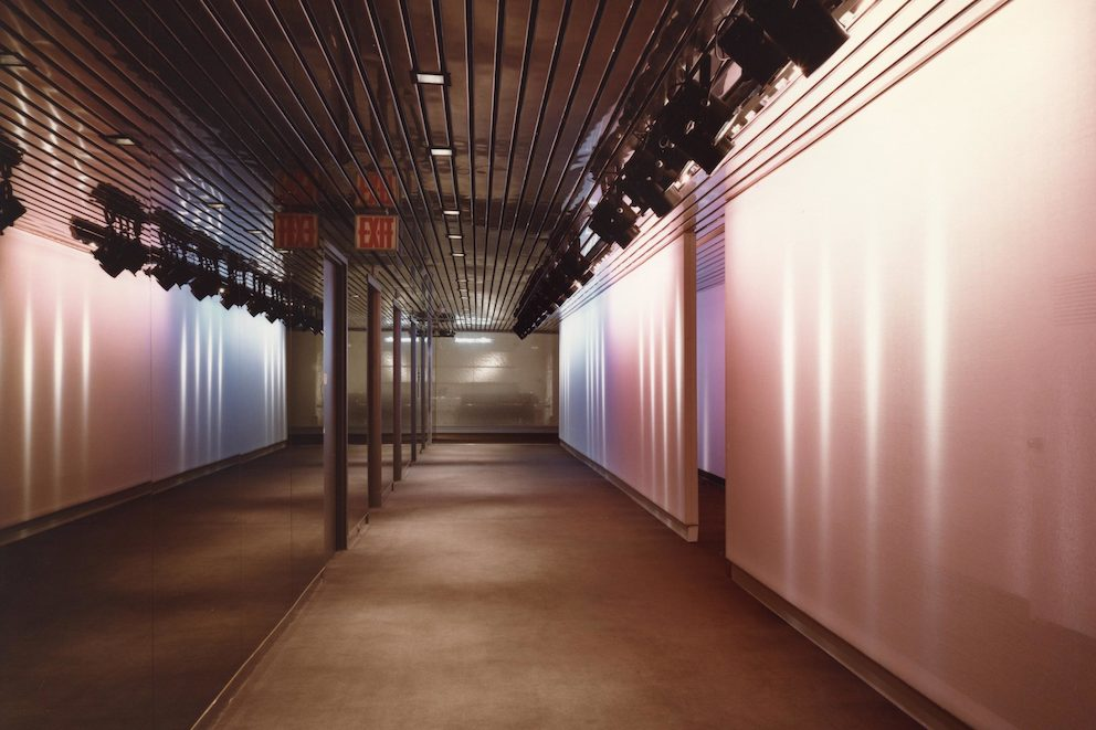 Tomoko Miho lighting installation for a Herman Miller showroom