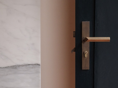Anastassiades designed door handle