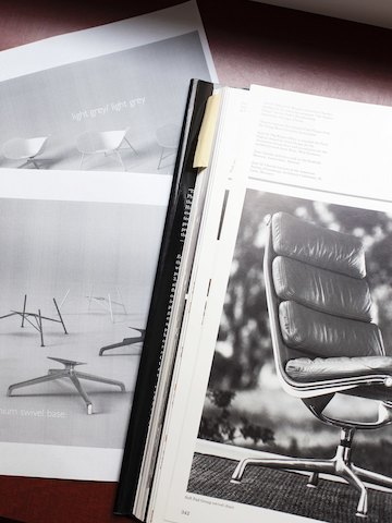 Eames Soft Pad was a design reference for Straid