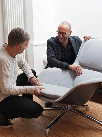Jehs+Laub with Striad Lounge Chair