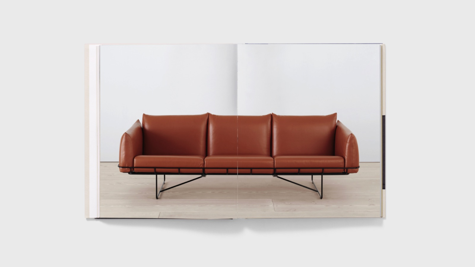 Wireframe Sofa, Industrial Facility