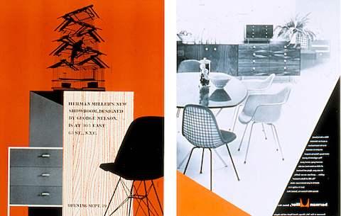 Magazine Advertisement For Interiors: