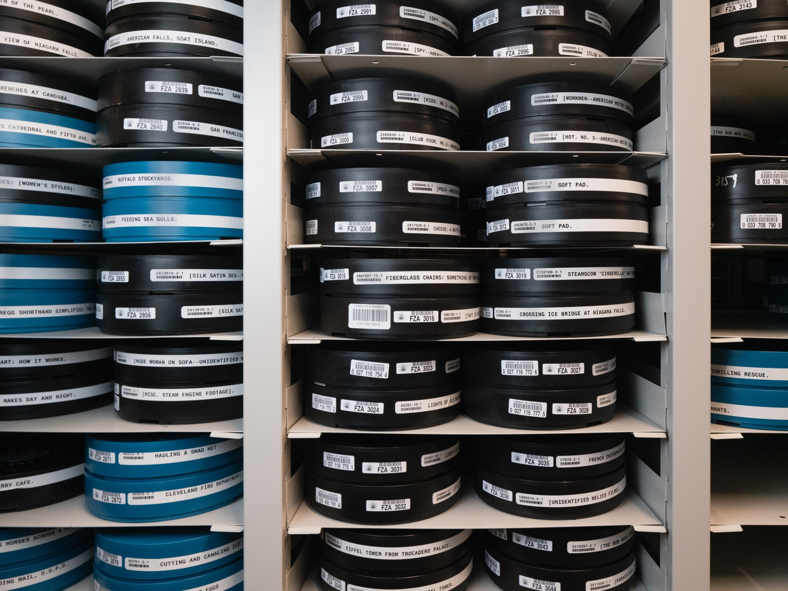 Restored films at the Library of Congress