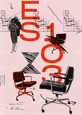 Eames Intermediate Chair, 1968