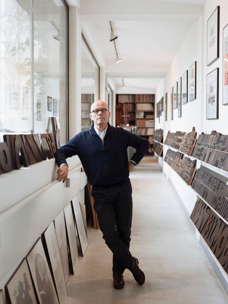 Erik Spiekermann, Berlin, Germany 2016.