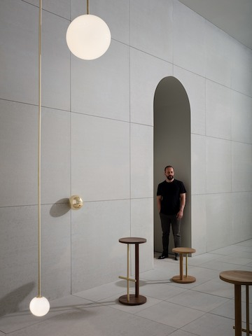 Michael Anastassiades within the installation