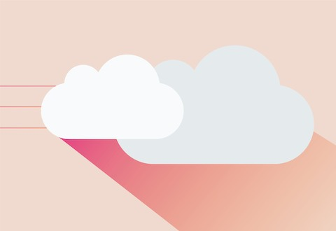 An illustration of clouds.