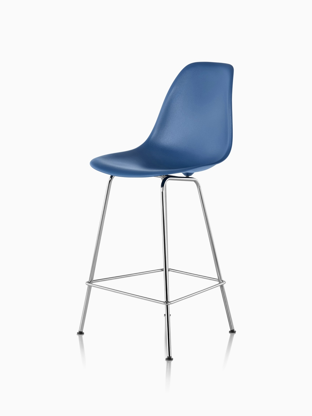 Eames Molded Plastic Stool, Counter Height