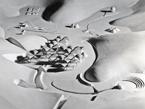 Model for Kodomo No Kuni, 1965-1966.
